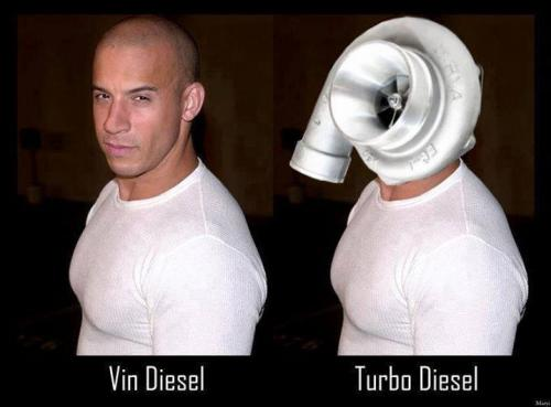 Vin Diesel a Turbo Diesel