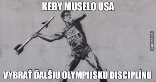 Olympijská disciplína