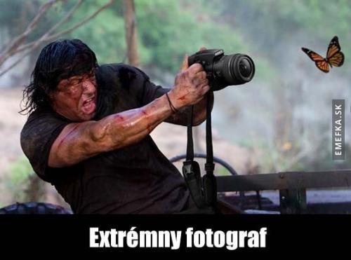 Extrémní fotograf