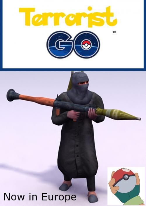 Terrorist in Europe