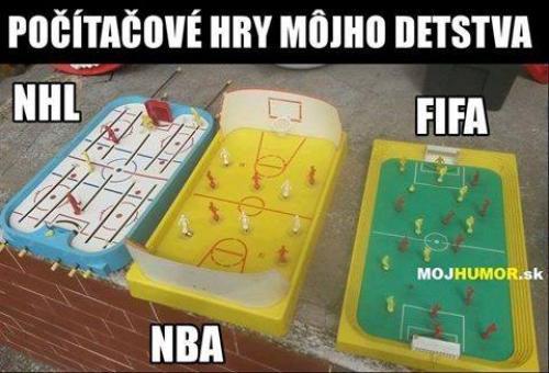 Počítačové hry mého dětství
