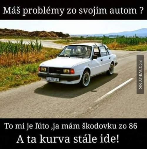 Problémy s autem