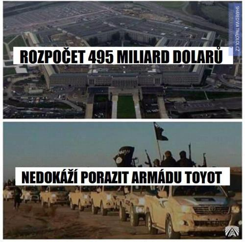 Neporazitelná ISIS versus chudák USA