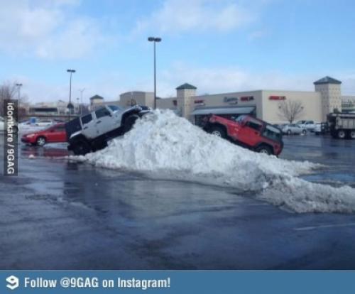 Jeep parkování