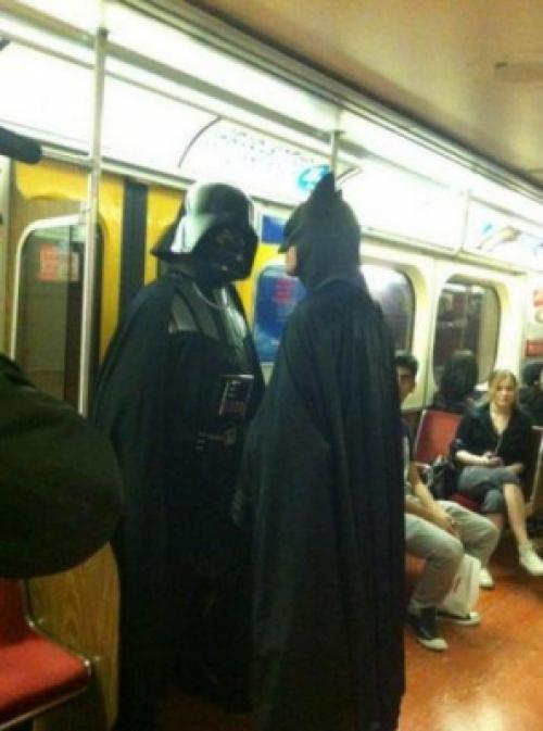 Běžné setkání v metru
