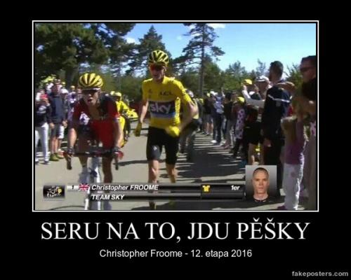 Chrostpher Froome - 12. etapa