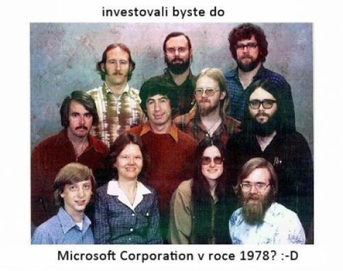 Microsoft v roce 1978