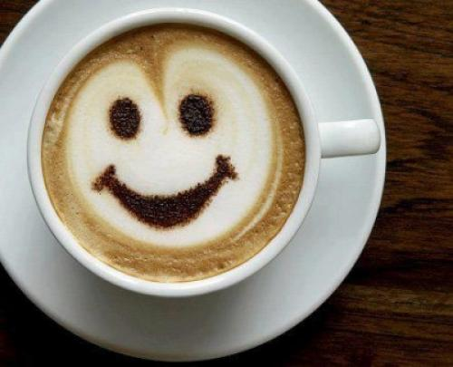 Usměvavé cappuccino