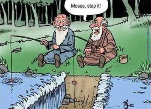 To jsou vtípky mojžíši