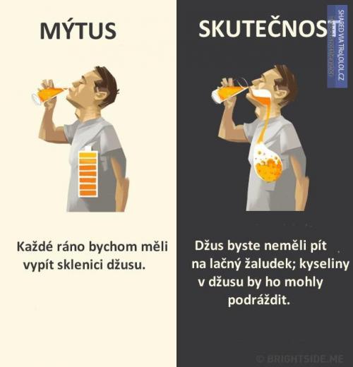 Mýtus vs. skutečnost