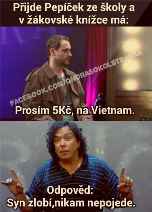 5Kč na Vietnam