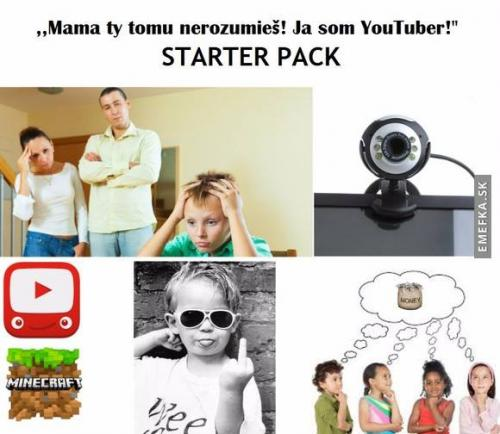 Já jsem youtuber!
