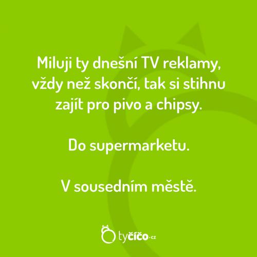 TV reklamy