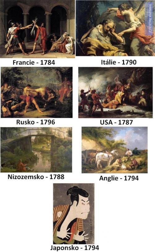 Boje v jednotlivých zemích