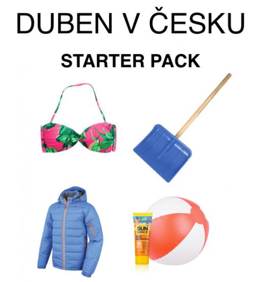 Duben v Česku