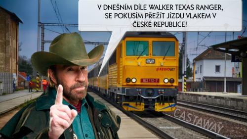 Chuck Norris tentokrát v ČR