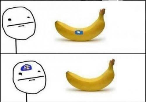 Banánové samolepky