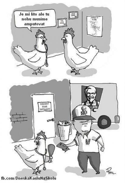 Amputace KFC