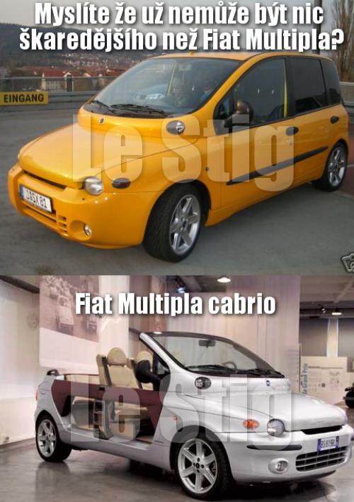 Fiat Multipla vs. Fiat Multipla carbio