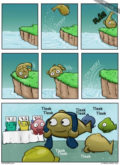 Rybí soutěžní disciplína!