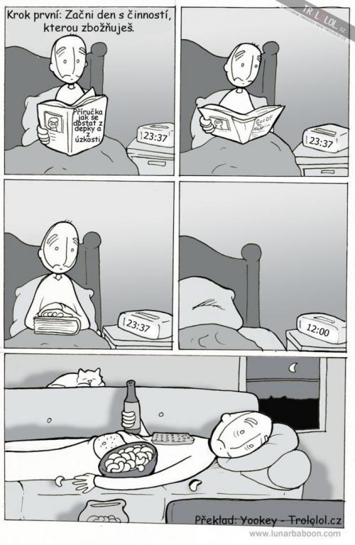 Jak se dostat z deprese