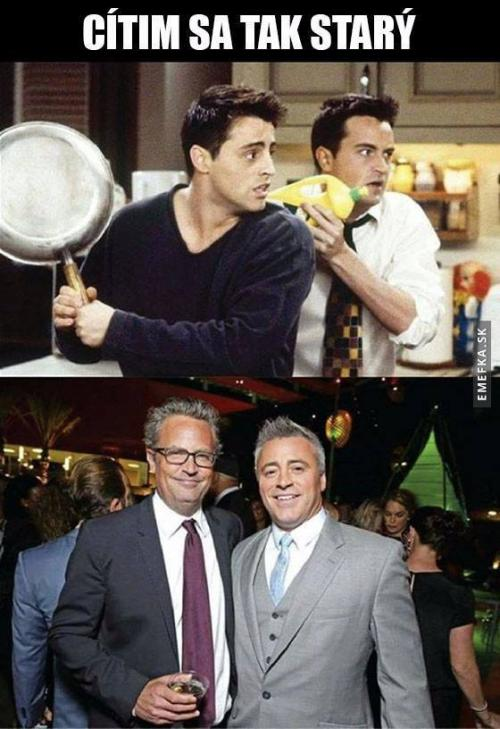 Joey a Chandler