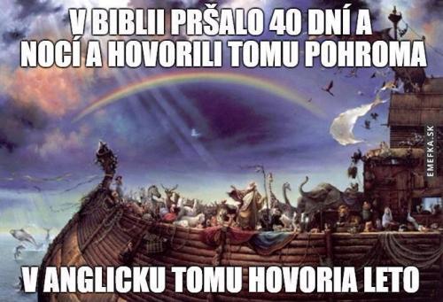 Bible a Anglie:D