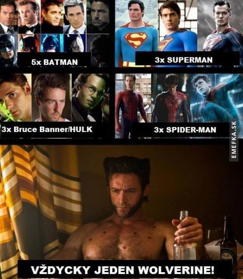 Wolverine top...