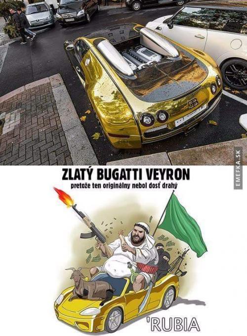 Zlatý bugatti