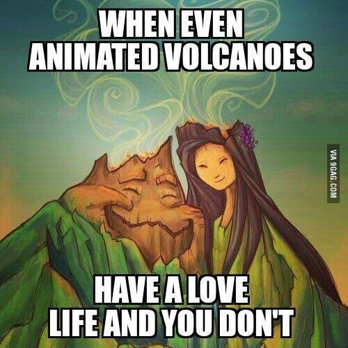 Když i animované vulkány někoho mají a ty ne
