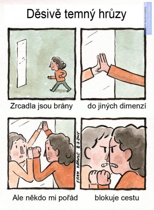 Zrcadla a jiné dimenze