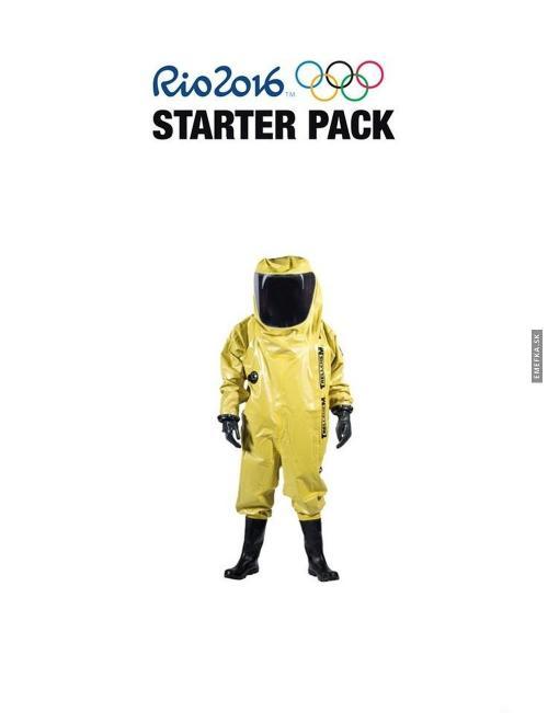 Rio 2016 Starter pack