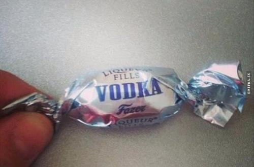Vodka bonbon