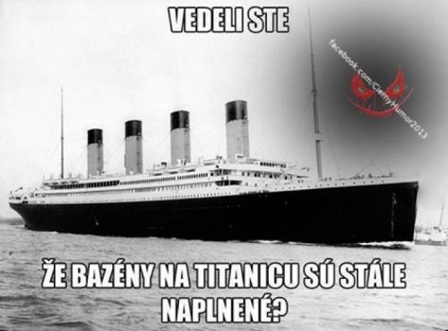 Bazény v Titanicu