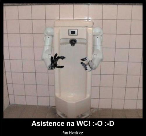 Asistence na WC