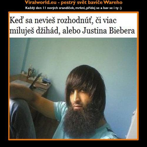 Justin nebo džíhád