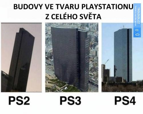 Playstation budovy