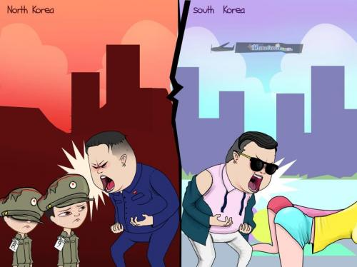 North VS South Korea