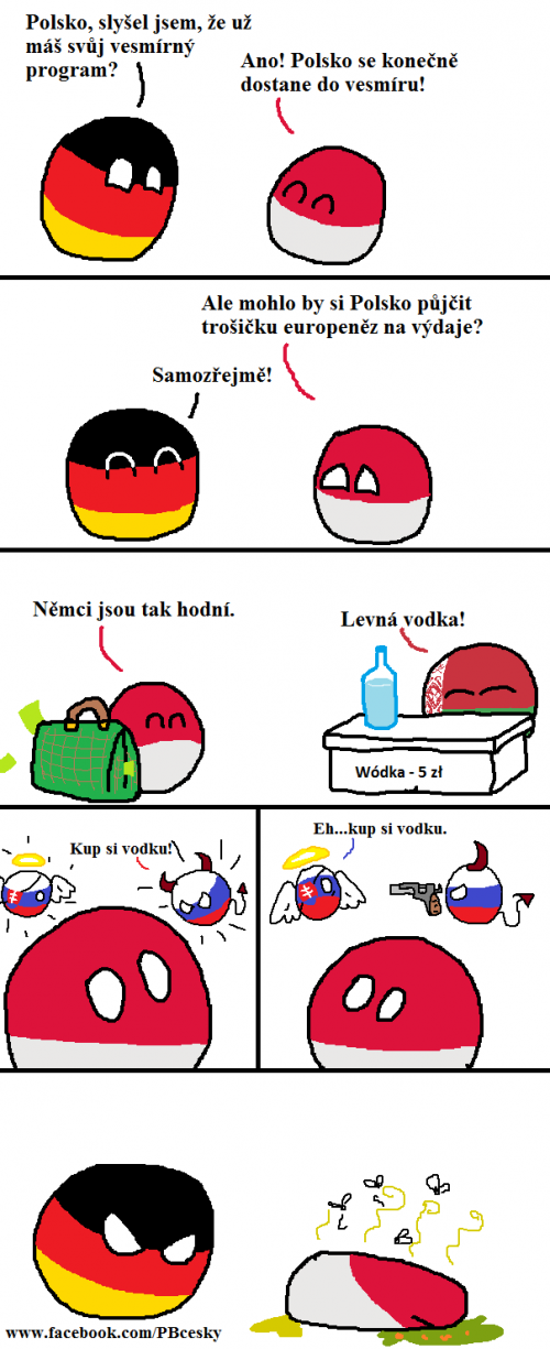 Polandball a vesmírná odysea