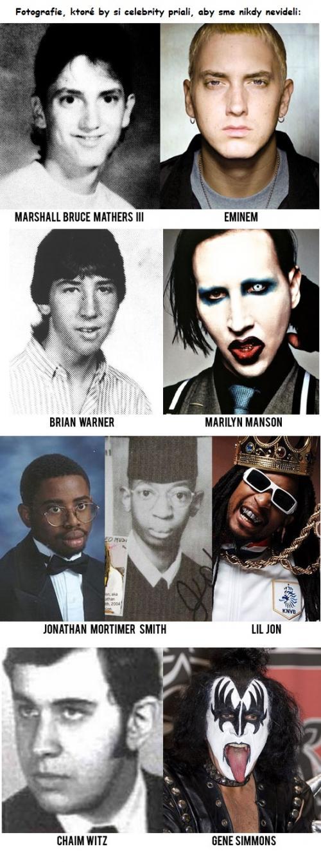 Staré fotografie celebrit