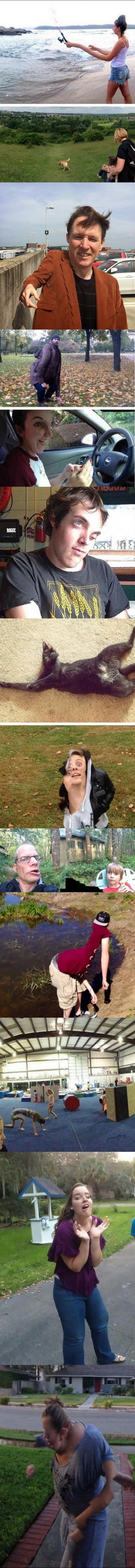 Vtipné panoramatické fotky