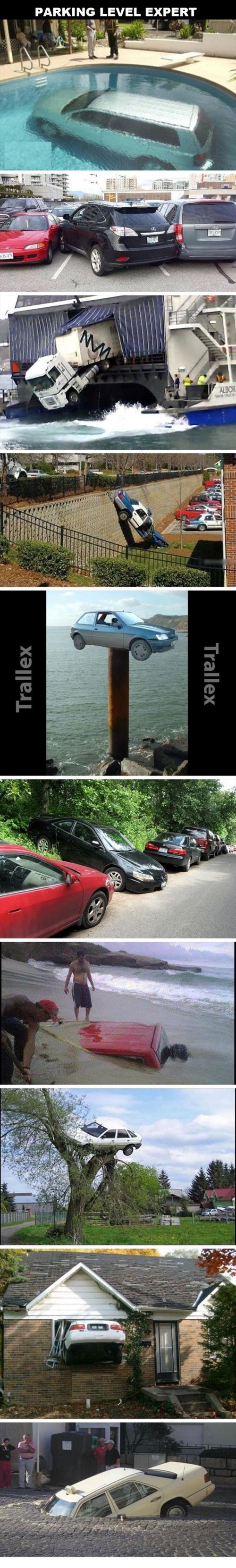 Největší experti v parkování