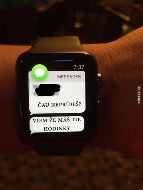 Nevýhoda Apple watch