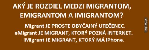 Migrant, Emigrant, Imigrant