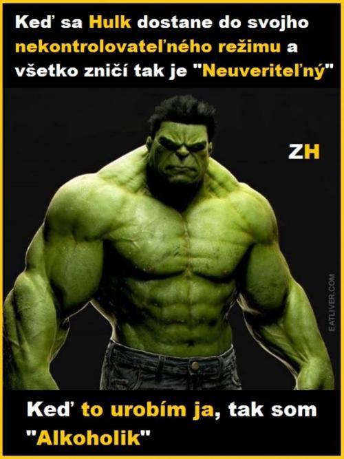 Hulk vs. já:D