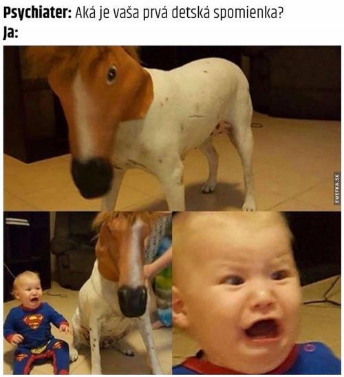 První dětská vzpomínka