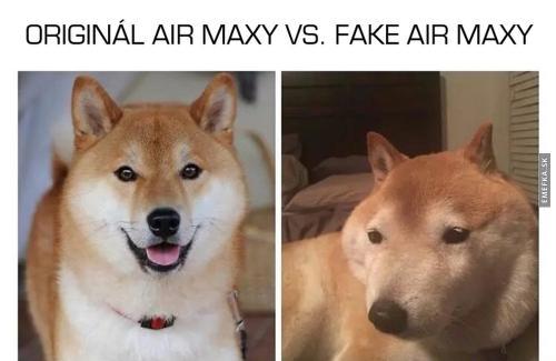 Air maxy vs fake