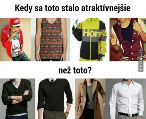 Atraktivní oblečení
