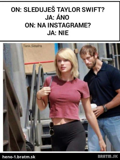 Sleduješ Taylor Swift?