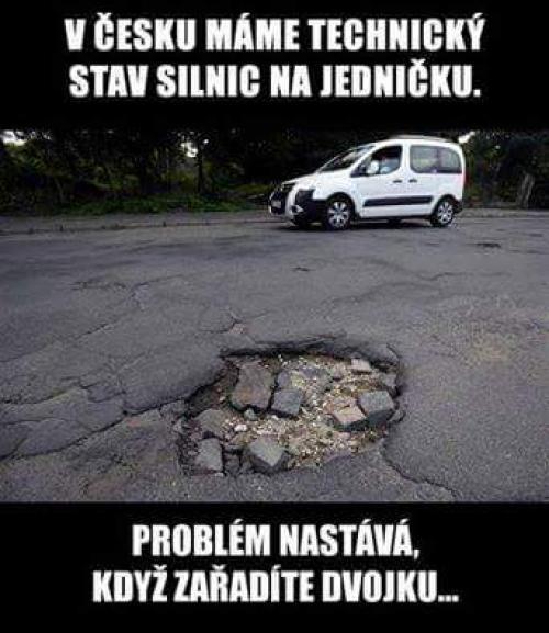 Technický stav silnici